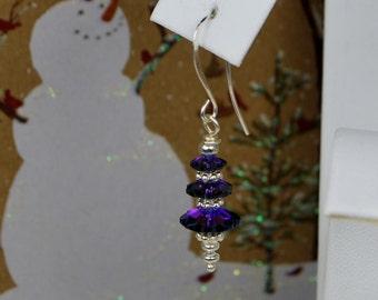 Swarovski Christmas Tree Earrings., SRAJD