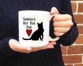 Big Cup, Large Tea Mug, Cute Cat Mug, Custom Name Mugs, Personalized Cat gifts, Tea Drinker, Gift for Her, Big Ceramic Coffee Mugs, Birthday