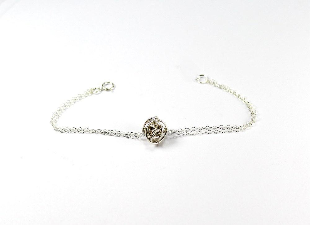 Wire Ball Bracelet