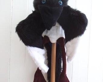 Jack Crow, Jake Magpie (ventriloquist glove puppet)
