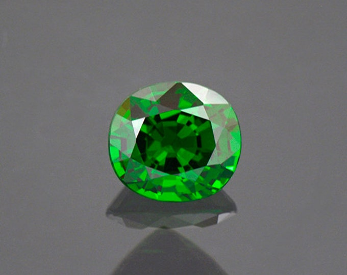 Enchanting Deep Green Tsavorite Gemstone from Kenya 1.57 cts