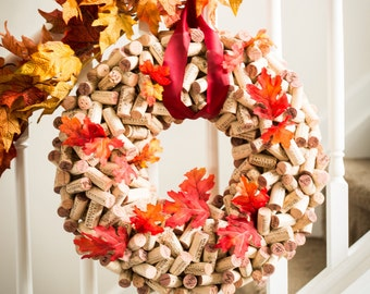 Handmade Cork Wreath