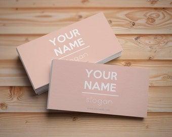 Custom printable business card, Modern Business card template, Business card design, Digital business cards, Personalized business cards