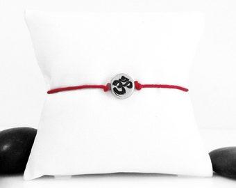 Yoga Bracelet, Yoga Jewelry, OM Charm, Meditation Bracelet, Yoga Gift, Om Jewelry, OM, Spiritual Jewelry, OM Symbol, Ohm Bracelet