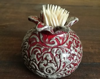 small pomegranate for toothpicks
