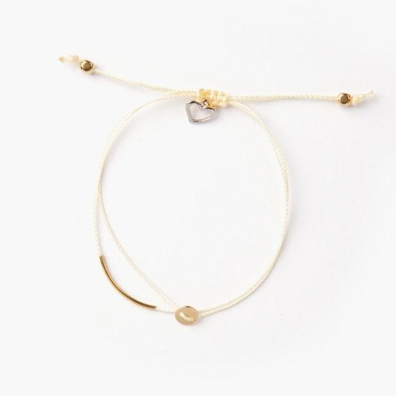 Luna bracelet handmade in Montreal