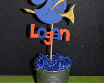 Finding Dory Cake Topper with child's name