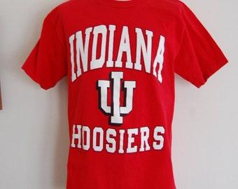 Vintage Indiana Hoosiers 1980's-90's IU T-Shirt Size Medium