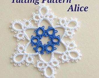 Snowflake Tatting Pattern Alice