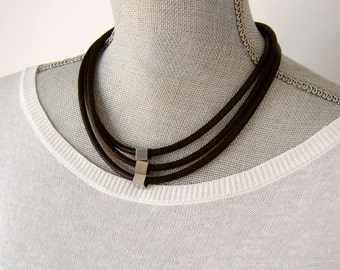 modern necklace,modern jewelry,black necklace,minimalist necklace,elegant choker,contemporary jewelry,simple choker.geometric necklace,urban