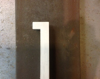 HOUSE ADDRESS NUMBERS | Concrete | Modern | 5 Inch High