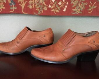 Vintage Dingo Western Ankle Boot Size 5.5 M