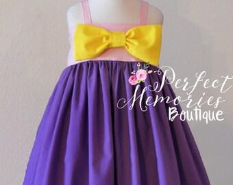 Rapunzel Dress   Princess Rapunzel   Girls Rapunzel Dress   Toddler Princess Dress  Rapunzel Birthday Party   Tangled Dress   Princess Party