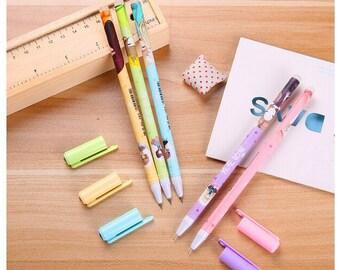 Kawaii Anime Girl Pens / Anime Pens / Cute Pens / Kawaii Pens/ Cute Gel Pens / Cute Planner Pens / Kawaii Anime Pens / Cute School Supplies