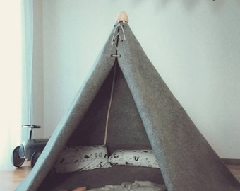 kids teepee for little boy, teepee-play tent for children-childrens teepee