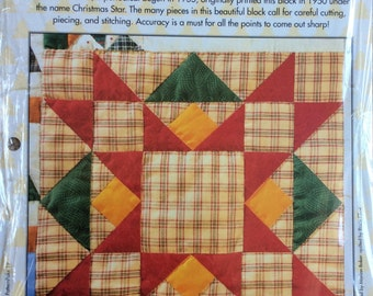 Christmas Star Quilt Block Of The Month