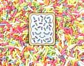 Pop Tart Pin - Cute Pin - Pop Tart - Cute Enamel Pin - Cute Food Pin - Junk Food Pin - Kawaii Pin - Valentines Day Gift