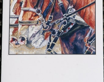 HorseTeam Pop Up Card