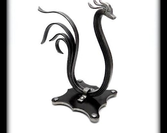 SWAN METAL SCULPTURE - Hand Forged by Naz - Bird - Rooster - Table Top Decoration - Original Unique Gift - Wedding Gift - House Warming Gift