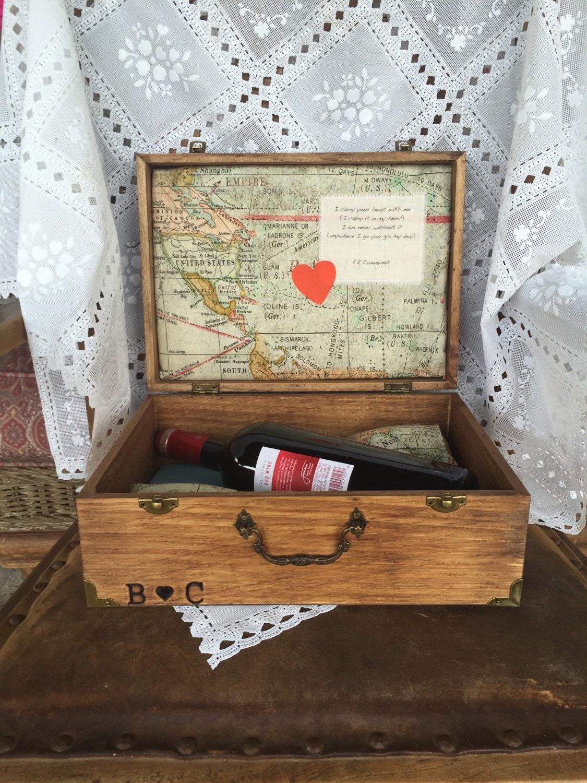 Wedding Gift Memory Boxes : Wedding gift Memory box keepsake box jewelry box by ButtonsNPearl