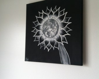 Moonflower Series  Painting 1