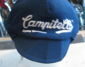 Campitello winter cycling cap acrylic blend Vintage cycling!