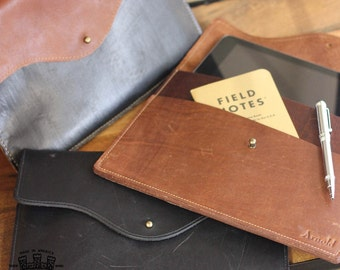 No. 20 Personalized iPad Fine Leather Case Sleeve Cover