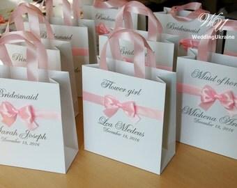 Personalized Gift bags Bridesmaid's Gift bag Bridal