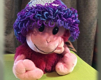 Crocheted Loopy Fun Child Winter Hat