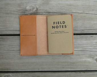 Leather Wallet, Field Notes Wallet, Check book, Passport wallet