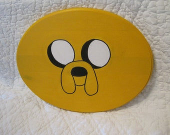 Jake the Dog from adventure time painting