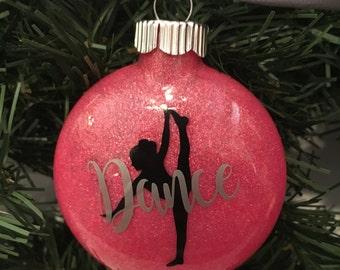 Dancer, Dance Christmas Ornament