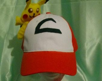 Ash Ketchum Hat with Pikachu