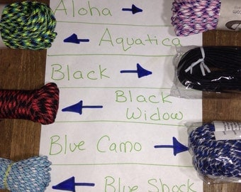 Custom Paracord Dog Collar - You Choose Color & Size!!