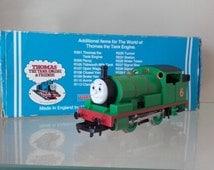 Percy, Thomas the tank engine, 00 gauge train.