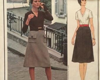 ON SALE Vogue Paris Original DressPattern 2543 by Pierre Balmain