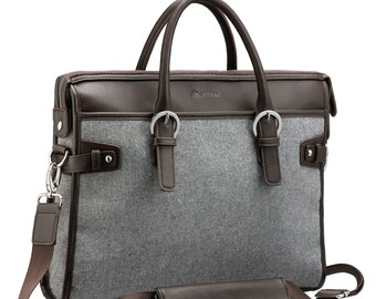 Handbag Luggage Laptop Bag - Briefcase Fits 13 to 14 Inch Notebook - 3 Days Sale!