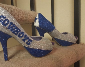 Cowboy heels handmade