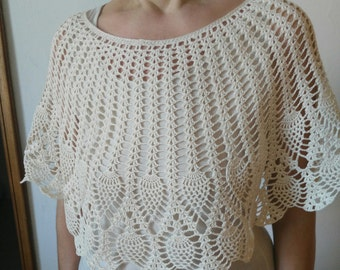 elegant cotton Cape