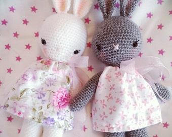bunny girl,crochet bunny,amigurumi bunny