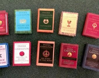 Outlander Miniature Book Ornaments