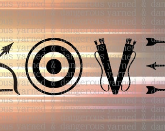 Archery Love SVG PNG