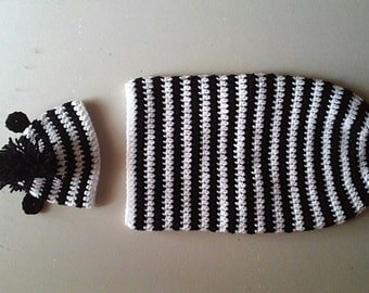 Zebra Newborn Photo Prop