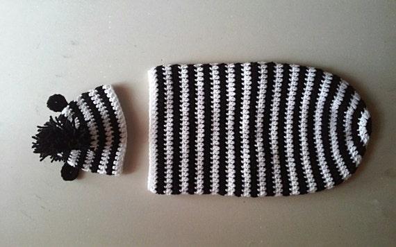 Zebra Newborn Photo Prop