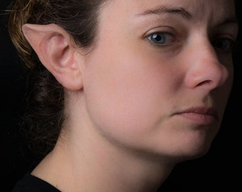 Elf Ears Tip Prosthetics Cosplay Halloween Non Latex