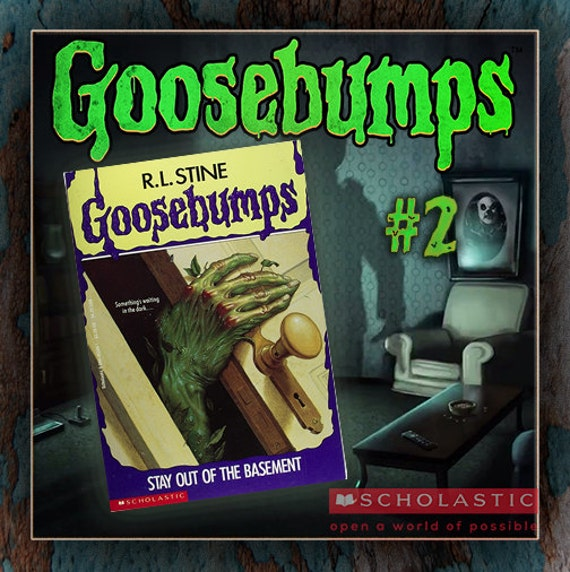 R.L. Stine Goosebumps Collection Book By AberrantAntiquities