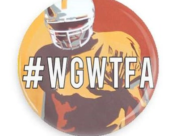 WGWTFA University of Tennessee Gameday Button Pin Vols #WGWTFA