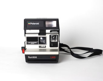 Retro Polaroid Camera | 1983 - Great Working Condition | With IMPOSSIBLE Film