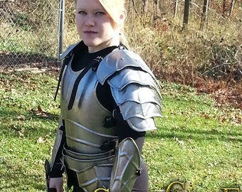 "Larp Female Fantasy Costume steel  armor: Female Cuirass ""Lady Lanzelot"""