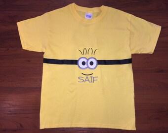 Minion Personalized Shirt